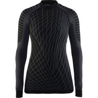 Craft Damen Active Intensity CN Langarmshirt - Black-Granite - XL