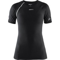 Craft Damen Active Extreme Kurzarm-Funktionsshirt - Schwarz - XL