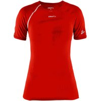 Craft Damen Active Extreme Kurzarm-Funktionsshirt - Rot - XL