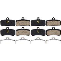 Nukeproof Shimano Saint-TRP Quadiem-Slate Bremsbeläge (4er Pack) - Schwarz - Organic