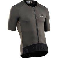 Image of Northwave Essence Short Sleeve Jersey - Graphite - XXL, Graphite