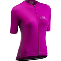 Image of Northwave Women's Allure Short Sleeve Jersey - Cyclamen, Cyclamen