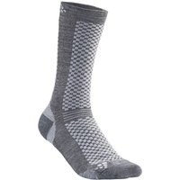 Craft Warm Mid Socken (2er Pack) - Granite-Plat