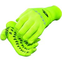 Image of Defeet E-Touch Reflector Dura Gloves - Fluo Yellow - M, Fluo Yellow