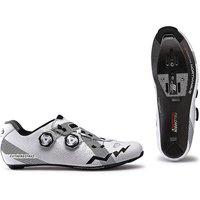 Image of Northwave Extreme Pro Road Shoes 2019 - White-Grey - EU 48, White-Grey