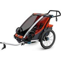 Thule Chariot Cross 1 Child Trailer - Orange, Orange