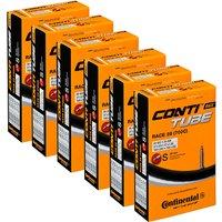 Continental Quality 20-25c Rennradschlauch (6er Pack) - Schwarz - 42mm