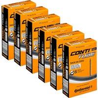 Continental Quality Road 18-25c Schlauch (6er Pack) - Schwarz - 80mm
