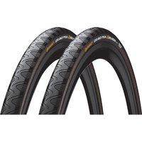 Continental Grand Prix 4 Season 28c Tyres - Pair - Schwarz - 700c