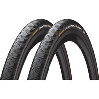 Continental Grand Prix 4 Season 23c Tyres - Pair - Schwarz - 700c