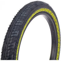 Fiction Night Moves Atlas LP BMX Tyre - 3M Reflective Yellow - 55-65 psi