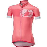 Image of Castelli Future Racer Kid Jersey - Pink - 8-9 Years, Pink
