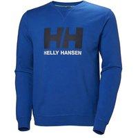 Helly Hansen Logo Crew Sweater - Olympia Blau - XXL