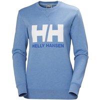 Helly Hansen Women´s Logo Crew Sweater - CornFlower Melange