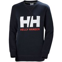 Helly Hansen Women´s Logo Crew Sweater - Navy