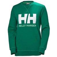 Helly Hansen Women´s Logo Crew Sweater - Pepper Green