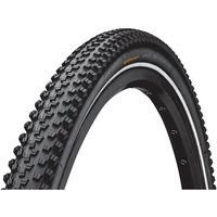 Continental AT Ride City Tyre - Schwarz - Reflektierend - 700c