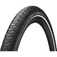 """Continental Contact Plus Touring Tyre - Schwarz/Reflective - 28"""""""