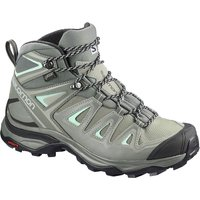 Salomon Women´s X Ultra 3 Mid (Gore-Tex) Boots - Shadow-Castor Gray-Beach Glass - UK 4