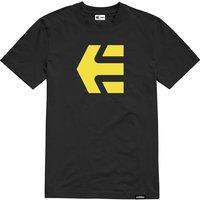 Etnies Icon Tee - Yellow-Black - XL, Yellow-Black