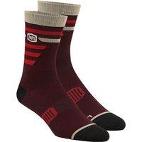 100% Advocate Performance Socks - Brick - L/XL/XXL