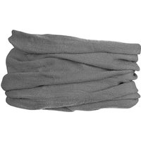 GripGrab Multifunctional Merino Neck Warmer - Grey - One Size, Grey