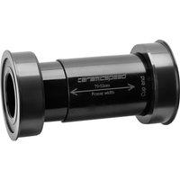 CeramicSpeed EVO386 Shimano Bottom Bracket - Schwarz - 86.5 x 46mm BB386 - 24mm Spindle