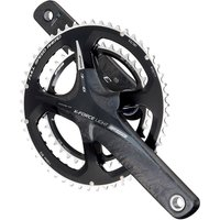 Image of FSA K-Force 386Evo Double Chainset 2014 - Carbon Grey - 53.39t, Carbon Grey