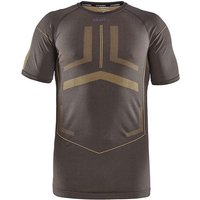 Craft Active Intensity Kurzarm-Funktionsshirt - Asphalt-Buzz - XXL