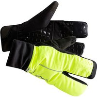 Craft Siberian 2.0 Split Finger Gloves - Flumino-Black