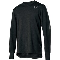 Image of Fox Racing Ranger Thermo LS Jersey - Black, Black