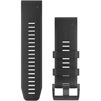Garmin 26mm QuickFit Silicone Watch Band - Schwarz