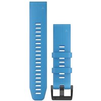 Garmin 22mm QuickFit Silicone Watch Band - Türkis - Blau