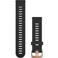 Garmin 20mm Quick Release Silicone Watch Band - Rose Gold