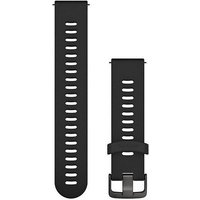 Garmin 20mm Quick Release Silicone Watch Band - Slate