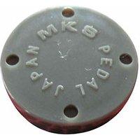 MKS Dust Cap for MTE-Sylvan Pedals - Flat Dust Cap