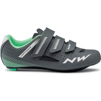Northwave Women's Core Road Shoes 2020 - Anthra-Light Green - EU 40, Anthra-Light Green