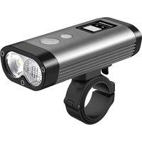 Ravemen PR1200 USB Rechargeable Front Light - Black-Grey, Black-Grey