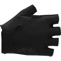 dhb Aeron Short finger Gel Gloves 2.0 - Black, Black