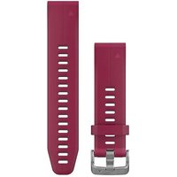 Garmin 20mm QuickFit Silicone Watch Band - Cerise