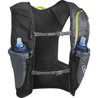 Camelbak Nano Vest with 2 x 1L Quick Stow Flask - Graphite-Sulphure Spring - Medium