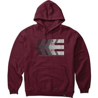 Image of Etnies After Burn Hoodie 2020 - Burgundy - M, Burgundy