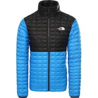The North Face ThermoBall Eco Light Jacket - Clear Lake Blue-TNF Black - XL