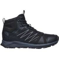 The North Face Litewave Fastpack II Waterproof Shoes - TNF Black-Ebony Grey - UK 11
