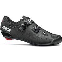 Sidi Genius 10 Road Shoes - Black-Black - EU 43.5, Black-Black