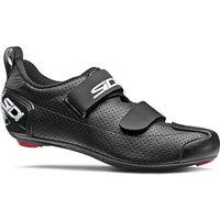 Image of Sidi T-5 Air Road Shoes 2020 - Black-Black - EU 45.5, Black-Black
