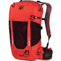 Image of Jack Wolfskin Kingston RECCO 22 Rucksack - Lava Red - One Size, Lava Red