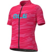 Ale Kids Rock Jersey - Strawberry-Turquoise - 8-9 Years, Strawberry-Turquoise