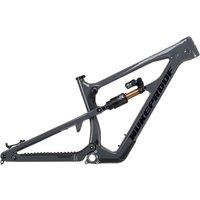 Nukeproof Mega 275 Carbon Mountain Bike Frame 2021 - Bullet Grey, Bullet Grey
