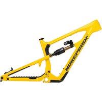 Nukeproof Mega 275 Carbon Mountain Bike Frame 2021 - Yellow, Yellow